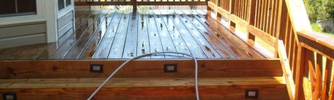 DECKING CLEANING & OILING